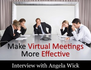 Make virtual meetings more effective