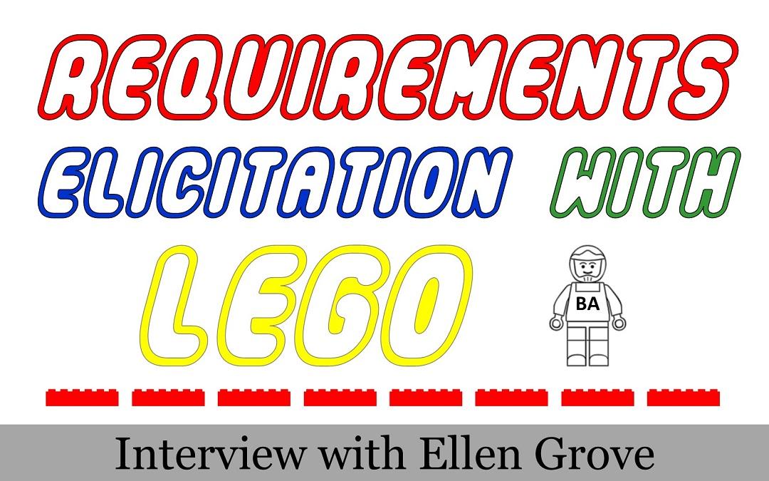 Legos as a user requirements elicitation technique