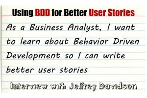 Using behavior driven development