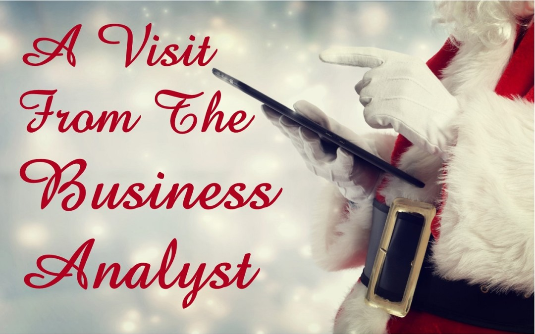 A Visit From the Business Analyst