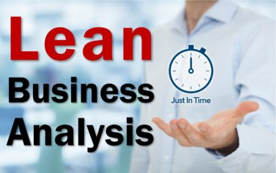 MBA074: Lean Business Analysis
