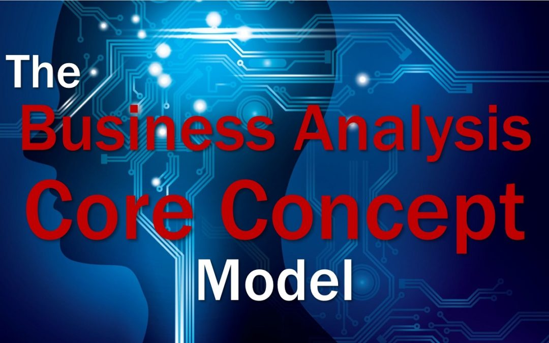 MBA083: The BA Core Concept Model