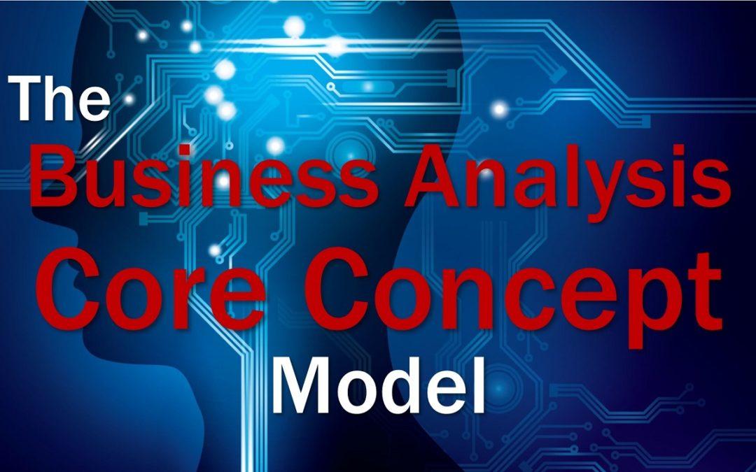 BA Core Concept Model
