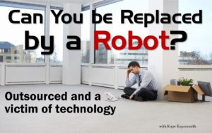 Can you be replaced by a robot?