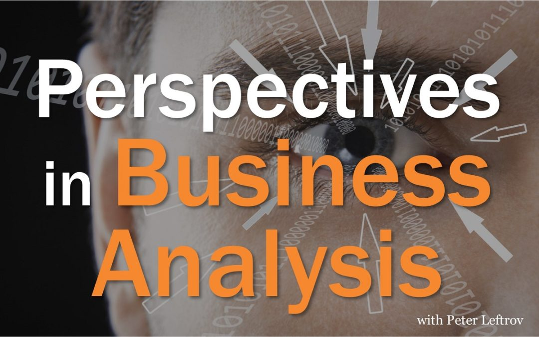 Using Perspectives In Business Analysis