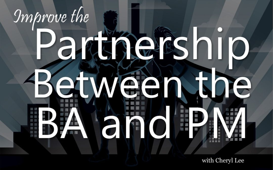 MBA097: Partnership Between the PM and BA