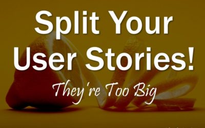 MBA101: Split Your Stories!