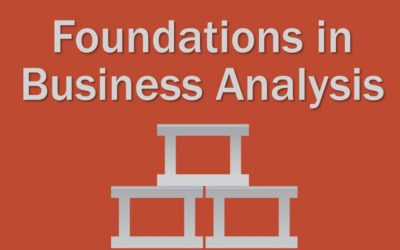 MBA109: Foundations in Business Analysis