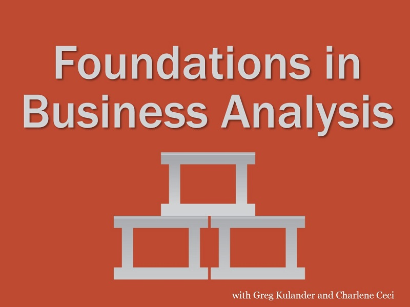 Foundations in Business Analysis
