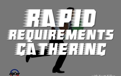 MBA106: Rapid Requirements Gathering