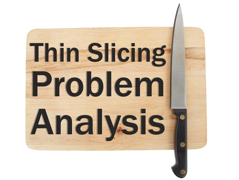 MBA139: Thin Slicing Problem Analysis