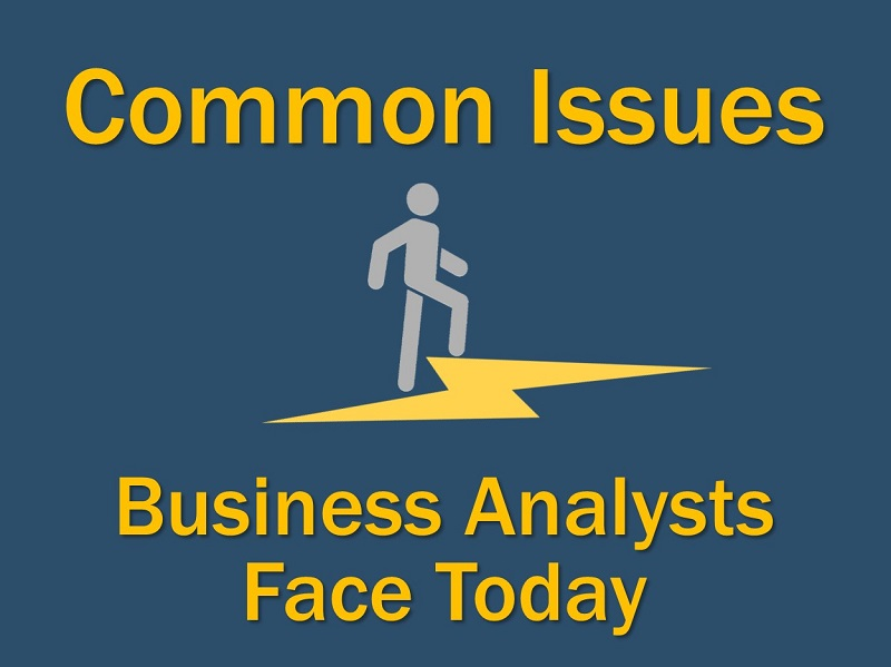Common issues facing business analysts face today