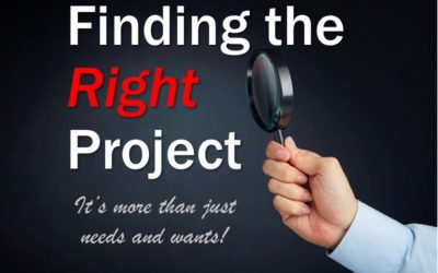 MBA152: Finding the Right Project