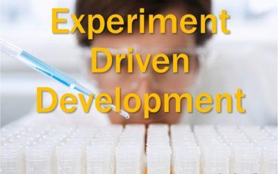 MBA159: Experiment Driven Development