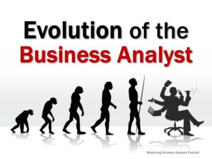 Evolution of the Business Analyst role