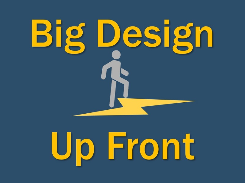 Big Design Up Front (BDUF)