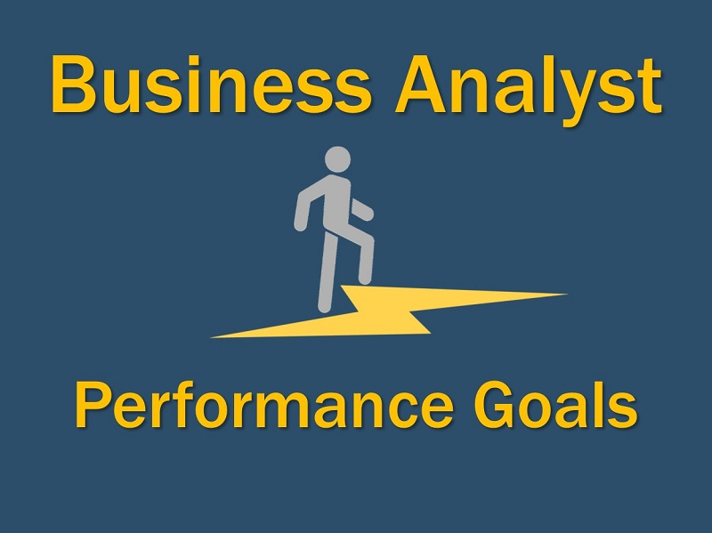 Business Analyst Performance goals