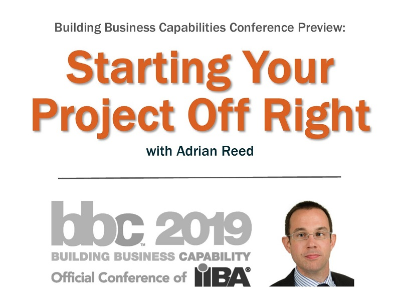 Start your project off right with Adrian Reed