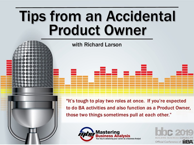 Tips from an Accidental Product Owner