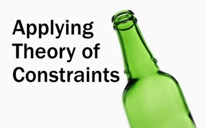 MBA213: Applying Theory of Constraints