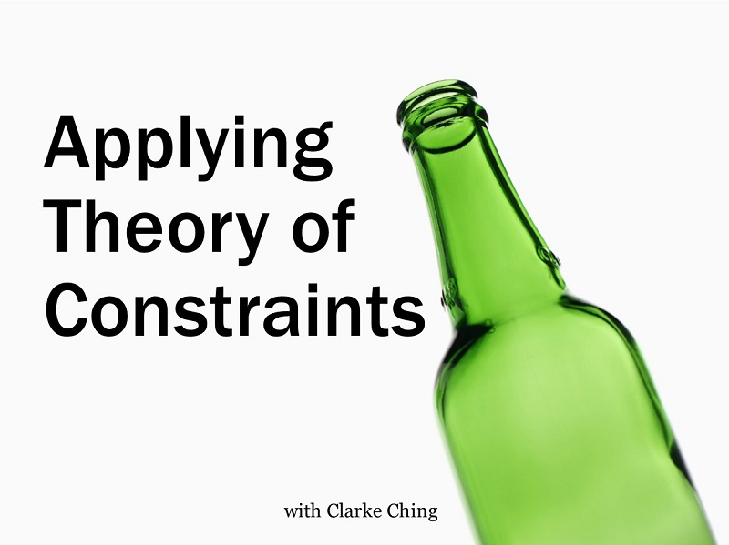 Applying Theory of Constraints